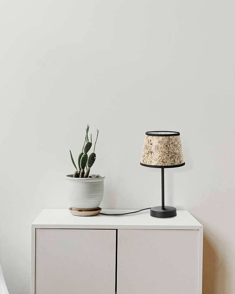 Table lamp 0000 hay conical lamp base metal nature lamp from ALMUT von Wildheim